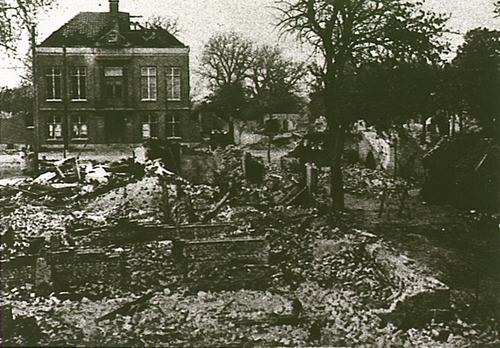1922 De grote brand van Leende