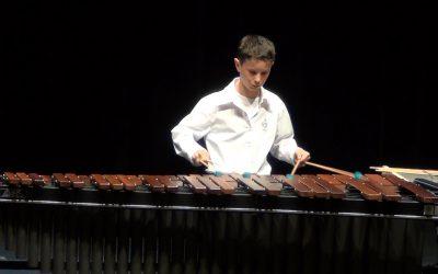 2016 Tweede plaats op NK slagwerk voor solisten