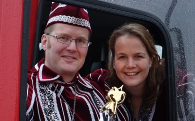 2015 Prins Marc dun Urste en Prinses Marieke prinsenpaar 2015