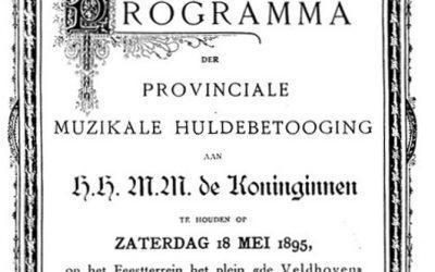 1895 Deelname aan défilé voor 2 Koninginnen in Tilburg